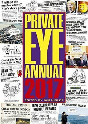 Private Eye Annual 2017 Annuals 2017 Hardcover