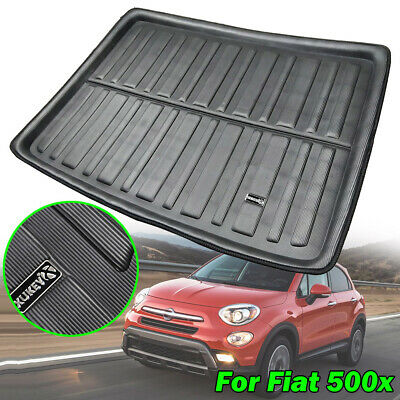 Tailored Cargo Boot Liner Tray Trunk Floor Mat Carpet For Fiat 500X 2014-2019