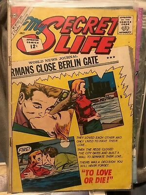 My Secret Life Charlton Cold War Issue Berlin Silver Age Comic