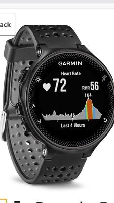 Garmin Forerunner 235 GPS RunningWatch with HRM Black NEW