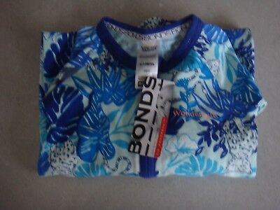 Bonds Zippy Wondersuit Panthera Lazuli Bnwt Size 0