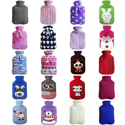 20 patterns 2000ml hot water bag knit twill/cartoon Case cover sleeve outlet