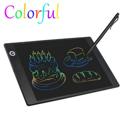 "9.7"" LCD Writing Tablet Color Screen Paperless Writing Board Drawing Tablet &Pen"