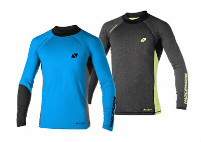 Magic Marine Herren Funktionsshirt Energy Sportshirt langarm Wassersport