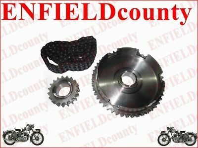 Lambretta Sprocket + Cahain Kit Set 80 Link 46 Cogs & 16 Cogs Li/sx/tv/gp @de