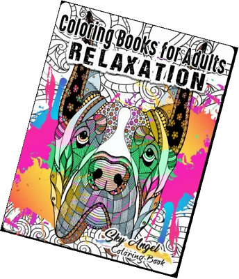 Coloring Books For Adults Relaxation Lovely Dogs Designs Doodle