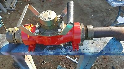"""3"""" fire hydrant water meter badger T 450 with a LF 2"""" gate valve + all fittings"""