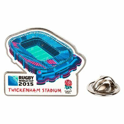 Official RUGBY WORLD CUP England 2015 Twickenham Stadium Pin Badge Union Badges