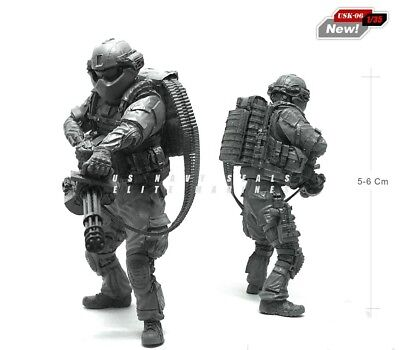 Resin Figure Kit US Army Special Force Miniature Unpainted Model Kit