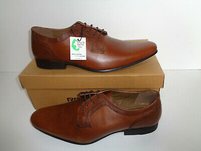 Red Tape Mens Tan Leather Shoes Lace Up New Smart Formal UK Sizes 6 7 8 9 10 11