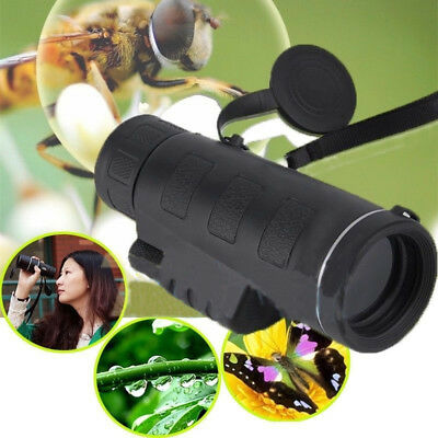 Day & Night Vision 40x60 HD Optical Monocular Travel Camping Hiking Telescope FB