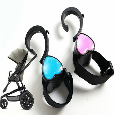 2 PC Multi Purpose Baby Yoya Stroller Hooks Accessories Hanger Carriage Storage