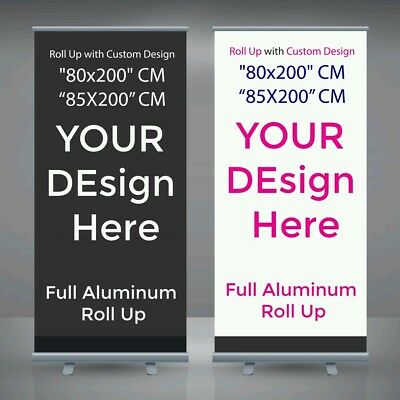 Roll up banner with custom design | pop up banner | pull up | Retractable banner