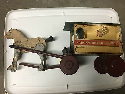 National Biscuit Company Horse & Wagon
