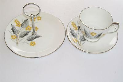 Retro Windsor Cup,Saucer and Small/Cake Biscuit Stand.