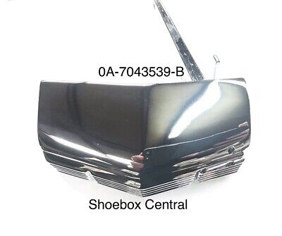 1950 Ford Chrome Trunk Deck Boot Lid Handle NEW