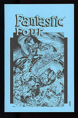 Fantastic Four (1996) #1 Blue Ashcan 1st Prt Limited to 2000 Unsigned Jim Lee NM