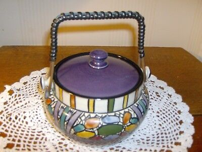 Torquay. Pottery. Watcombe  Beautiful biscuit bowl