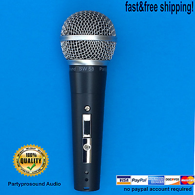 Aftermarket Microphone for Shure SM58 microphone , SW58 Dynamic Microphone