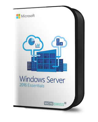 Windows Server 2016 Essentials (64 bit) Genuine Licence Key
