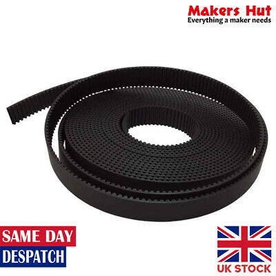 Open Ended 5M Timing Belt - 9mm 12mm or 15mm Wide - Per meter