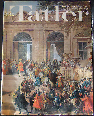 Vintage Tatler Magazine December 1970 47Th Birthday Models Weddings