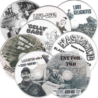 Blaster Bates - x8CD Collection Laughter with a Bang - plus more.