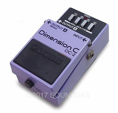 BOSS DIMENSION C DC-2 Vintage Chorus Effect Pedal - Price inc. 20% VAT D