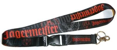JAGERMEISTER LANYARD w/ Detachable Clip and Keychain Ring Jager ID Badge Holder