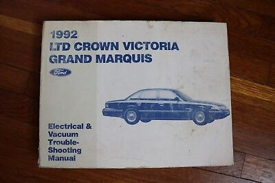 1991 Ford Ltd Crown Victoria Grand Marquis Wiring Diagram Electrical Manual