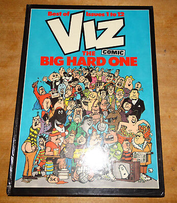 Viz annual The Big Hard One, best of issues 1 to 12, first edition, hardback