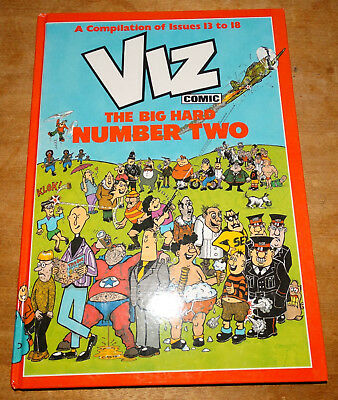 Viz annual The Big Hard Number Two, best of issues 13-18, first edition hardback