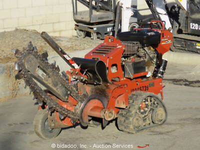 "2011 Ditch Witch RT12 36"" Walk Behind Trencher Honda Self Propelled Tracked"