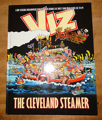 Viz annual The Cleveland Steamer, best of issues 162-171, first edition hardback