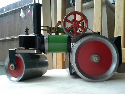 Vintage 1970's Mamod of England Steam Roller Engine complete