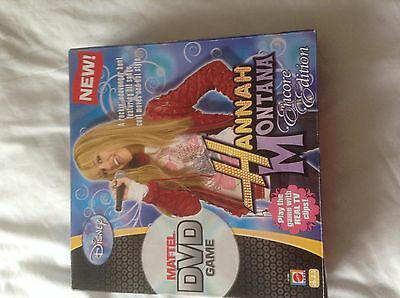 Hannah montana   encore edition , matel  dvd game