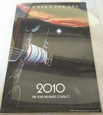 2010 The Year We Make Contact  / 1984 Budweiser Beer Promotional Movie Poster