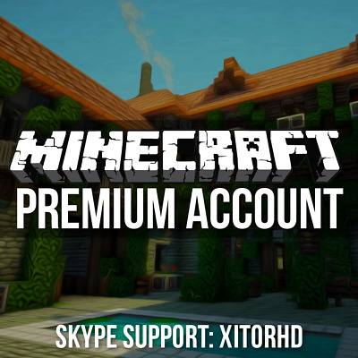 ⯈ MINECRAFT PREMIUM ACCOUNT ⯇ | very fast delivery and friendly support :)