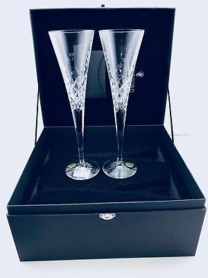 Waterford® Wishes Happy Celebrations Toasting Flutes (Set of 2) Boxed Collection