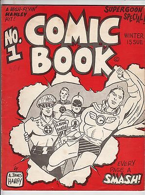 Comic Book #1, JAMES HANLEY, Early Fanzine, VG/FINE, 1966