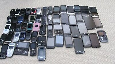 Lot Of 57 Cell Phone Gold Scrap Recovery Parts Repair Approx 12 LBS Huge AS IS
