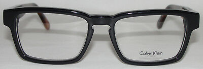 New Calvin Klein Men s Eyeglasses Black Ck7918 001 Retro Glasses 52-17-145 f3b539ae90