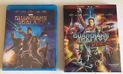 Guardians of the Galaxy V.1 & V.2 (Two Blu-ray Disc) FREE First Class Shipping!
