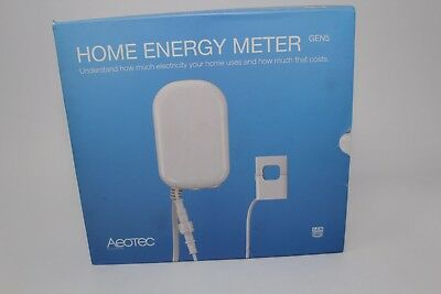 Electrical Connectors Aeotec Home Energy Meter Gen5, Z-Wave Plus Electricity Use