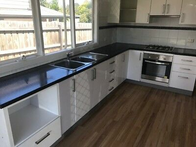 Kitchen, used, clean and tidy