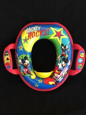 The First Years Mickey Soft Potty Seat Mickey Mouse NEW FREE SHIPPING