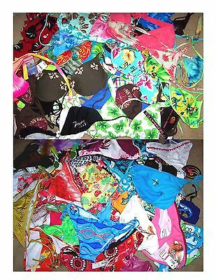 Wholesale Grab Bag Lot of 50 Swimsuit Tops & Bottoms