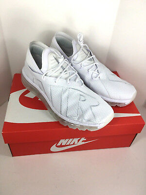 a8bed0c3b38d Nike Air Max Flair Sz 12 White Pure Platinum Uptempo Men Run Shoes  942236-100