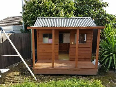 Kids Wooden Cubby House