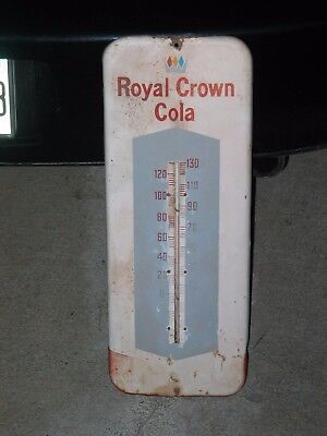"""ROYAL CROWN COLA, RC, the fresher refresher, Working Thermometer, 13-1/2"""" Tall"""